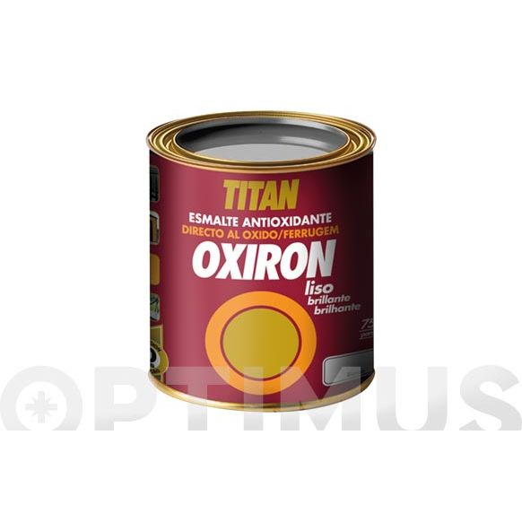 TITAN OXIRON LISO BRILLANTE BLANCO 750 ML